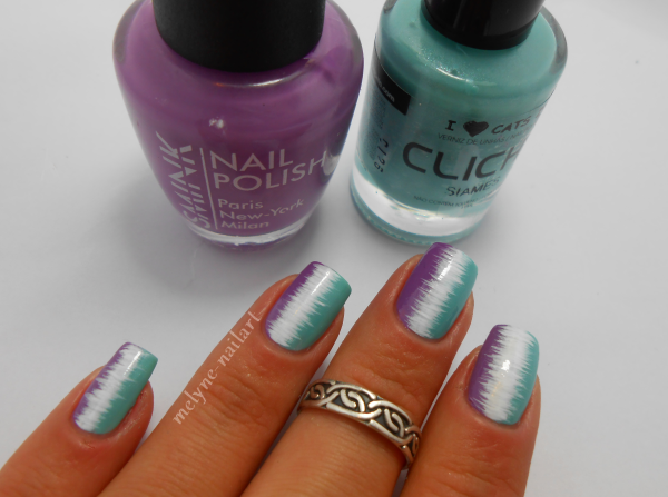 Nail Art effet couture vernis ongles smink et cliche 6
