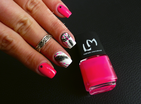 Nail Art  Dreamcatcher 1