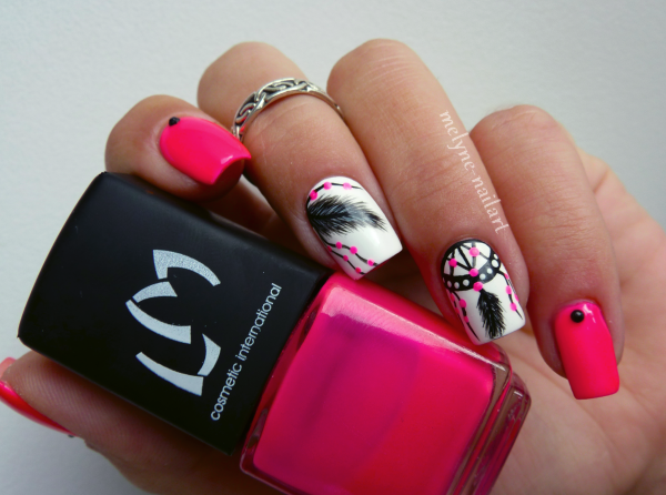 Nail Art  Dreamcatcher 10