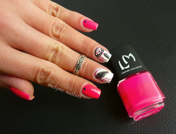 Nail Art  Dreamcatcher 2