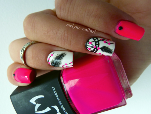 Nail Art  Dreamcatcher 4