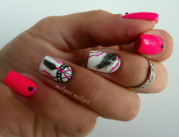 Nail Art  Dreamcatcher 8