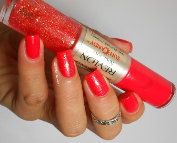Revlon Lava Flame 450, Nail art Sun Candy