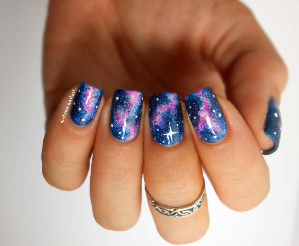Galaxy nails Picture Polish Cosmo