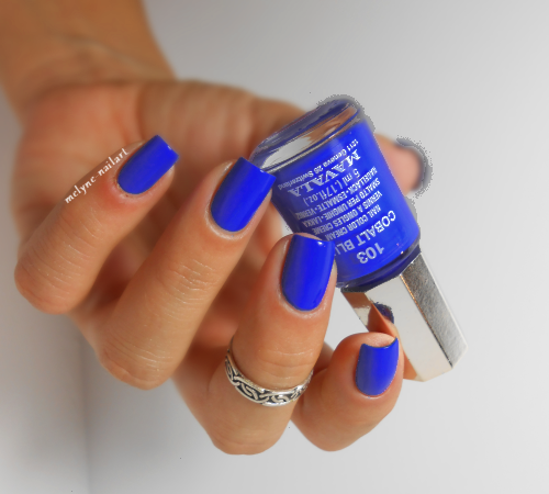 Mavala Cobalt Blue 103, collection Techni Color