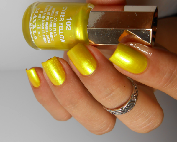 Mavala Cyber Yellow, collection Techni Color
