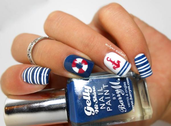 Nail art marin, nailstorming