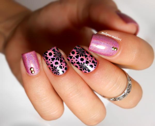 Nail art stamping pueen Princess Diaries ILNP