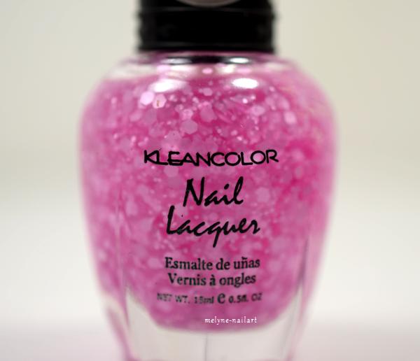 Kleancolor Dancing Pink 284 Glitter Matte