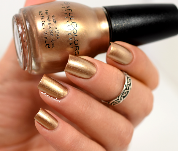 Sinful Colors Gold Medal collection Holiday Wishes