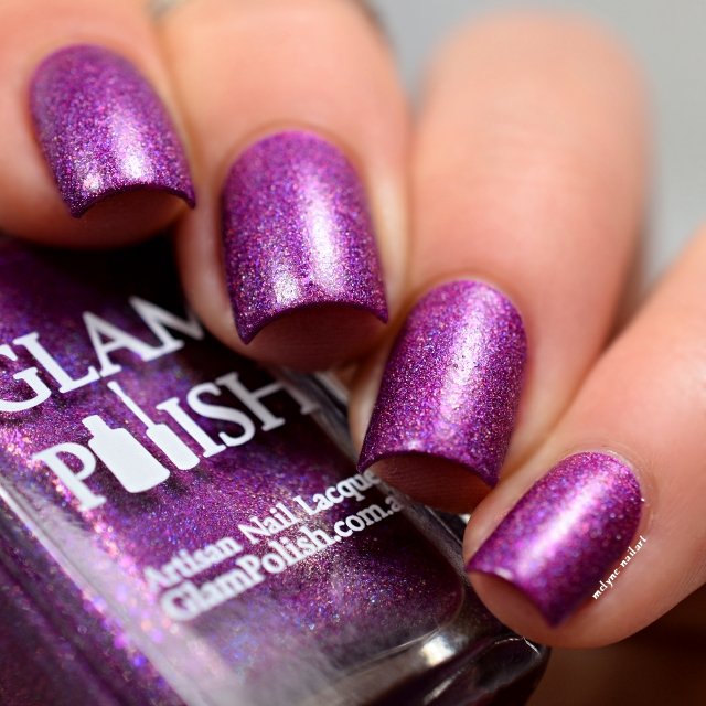 Glam Polish Without Love Hairspray collection