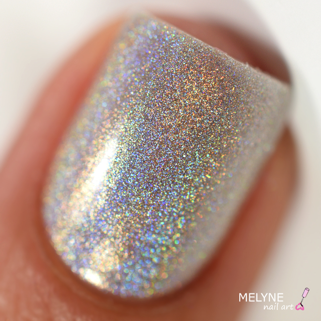 LM Cosmetic Silvershape holographique n°2