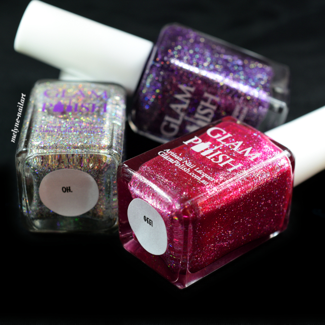 Glam Polish collection OH. EM. GEE!