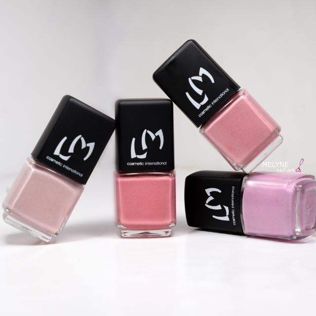 LM Cosmetic collection Nudes Poudrés