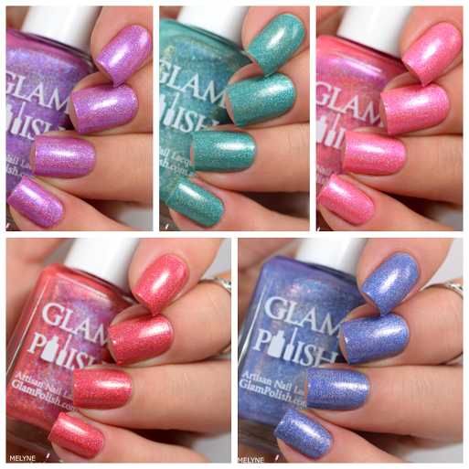 glam polish gleek collection