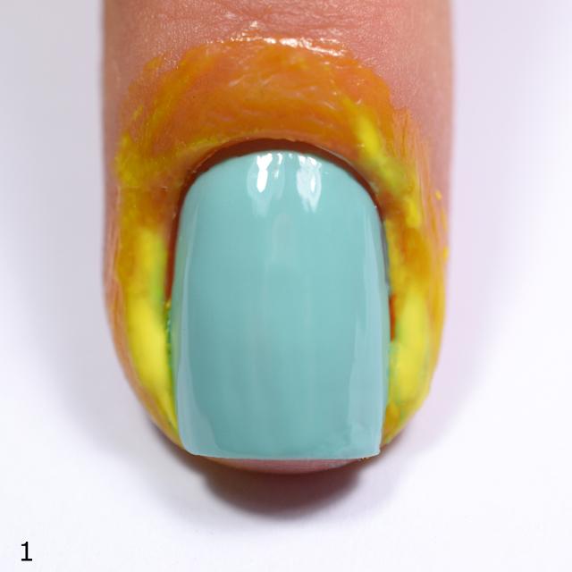 Color4nails crystalline nail veil