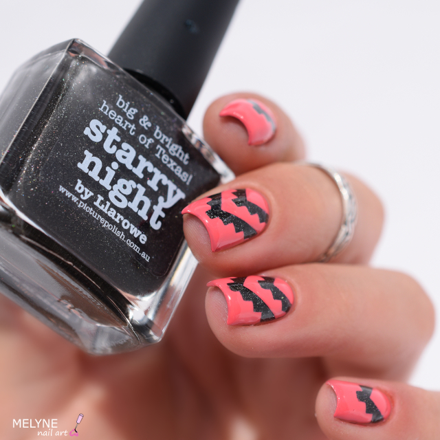 nail art azteque Picture Polish
