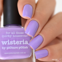 Picture Polish Wisteria