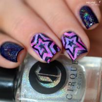 Nail art etoile nail vinyls 1