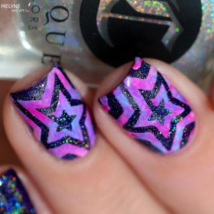 Nail art etoile nail vinyls 4