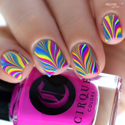 Watermarble neon Vice Collection 2016 Cirque Colors 1
