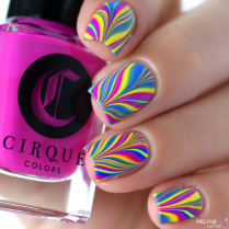Watermarble neon Vice Collection 2016 Cirque Colors 2
