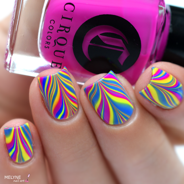 Watermarble neon Vice Collection 2016 Cirque Colors