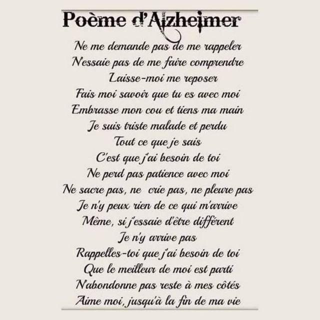 poeme alzheimer