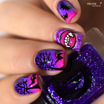nail-art-chica-vampiro-tutorial-vampire-et-chauve-souris-7