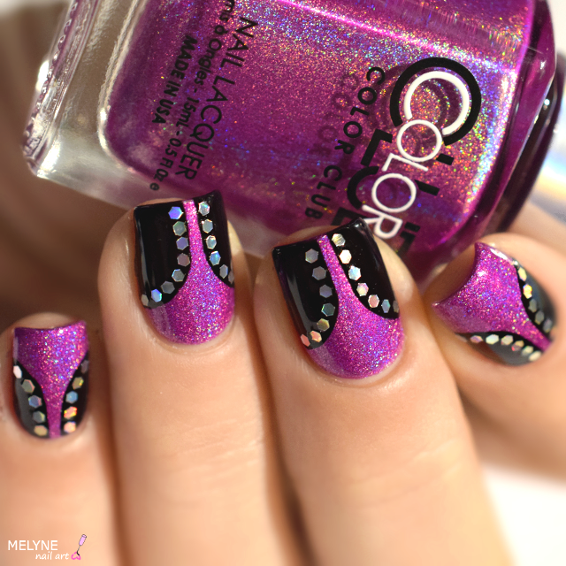 nail-art-effet-corcet-paillete-color-club-celestial
