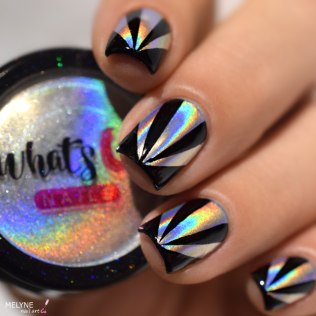nail-art-triangles-holographic-powder-7