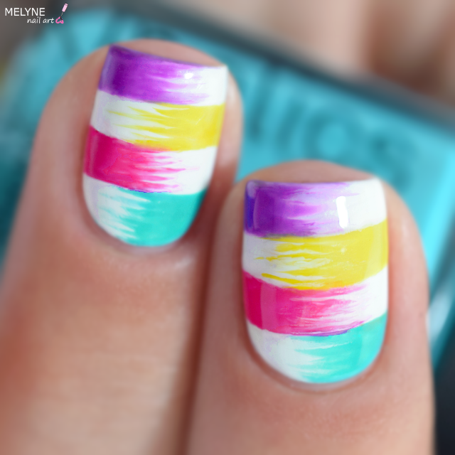 Summer nail art design Kinetics 5